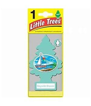 LITTLE TREE CAR FRESHNER BAYSIDE BREEZE 24CT