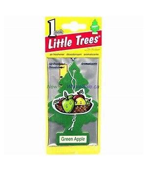 LITTLE TREE CAR FRESHNER GREEN APPLE 24CT