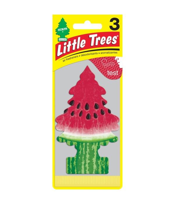 LITTLE TREE CAR FRESHNER WATERMELLON 24CT