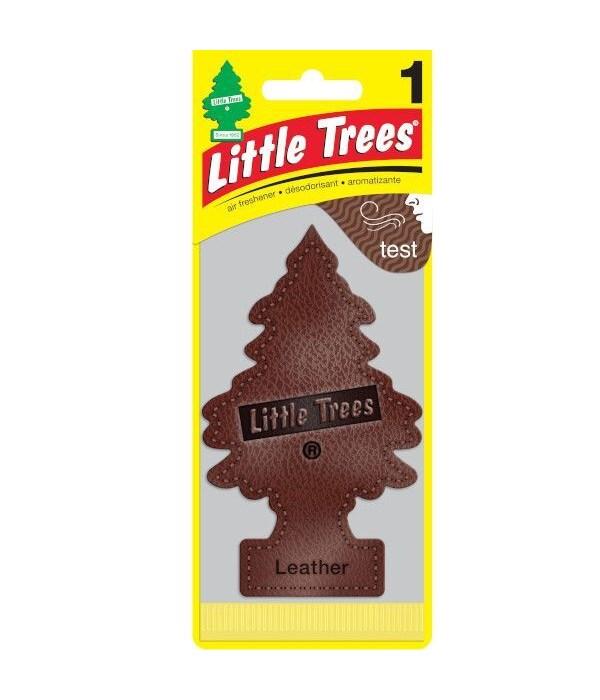 LITTLE TREE CAR FRESHNER LEATHER 24CT
