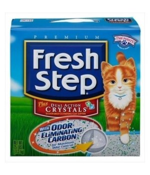 FRESH STEP ODOR SHIELD DUAL ACTION CRYSTALS 1/25LB