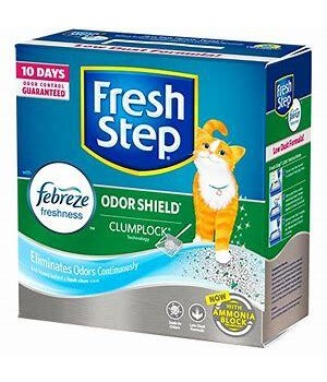 FRESH STEP SCENTED ODOR SHIELD CAT LITTER 2/19OZ