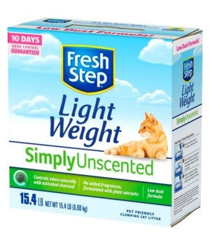 FRESH STEP LIGHTWEIGHT MULTI CAT UNSCETED 1/15.4LB