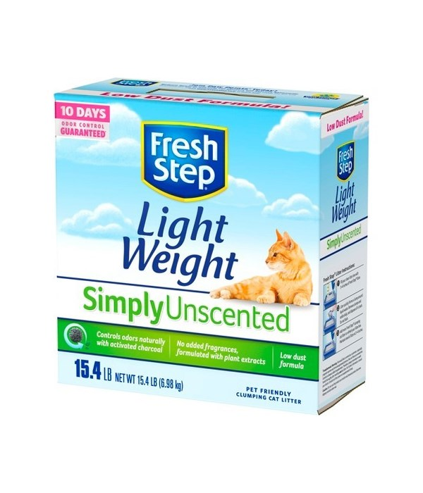 FRESH STEP LIGHTWEIGHT MULTI CAT UNSCETED 1/15.4LB