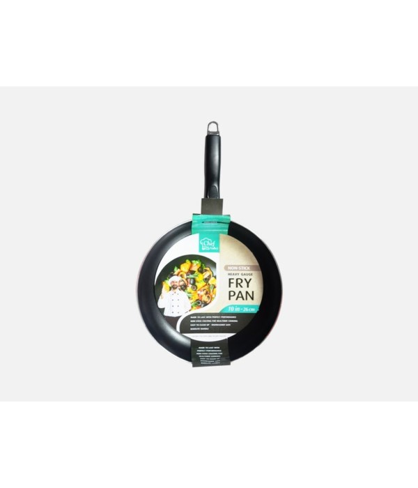 10'' NONSTICK FRY PAN W/OUT LID 12CT