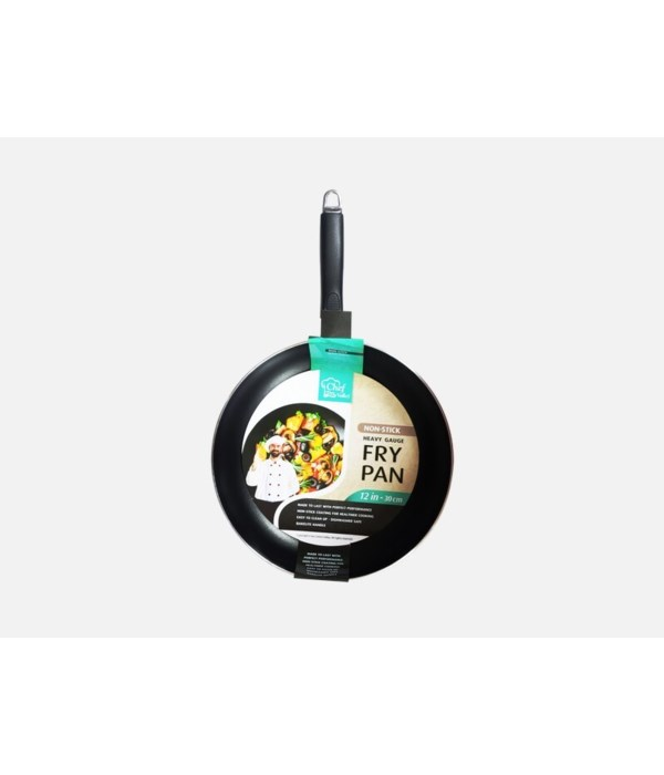 12'' NONSTICK FRY PAN W/OUT LID 12CT
