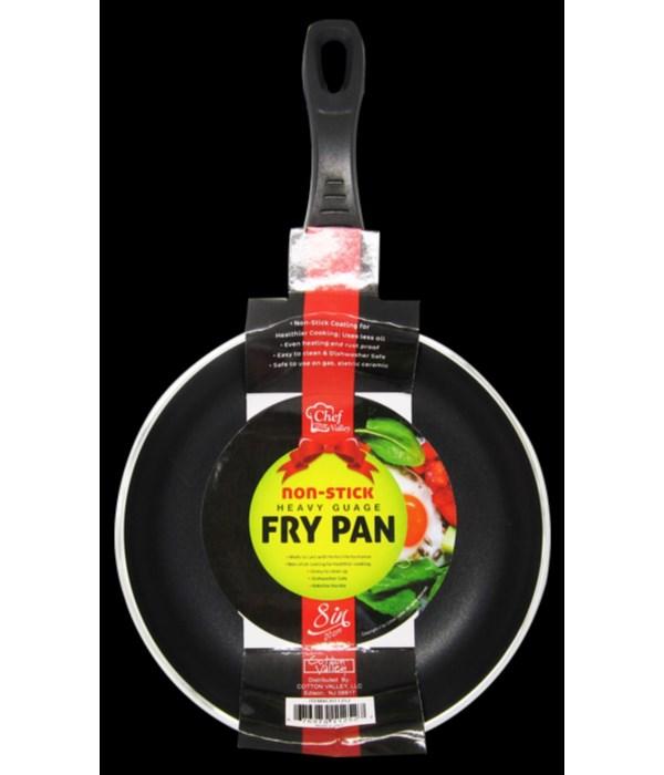 "8"" HEAVY NON STICK FRYING PAN 12CT"