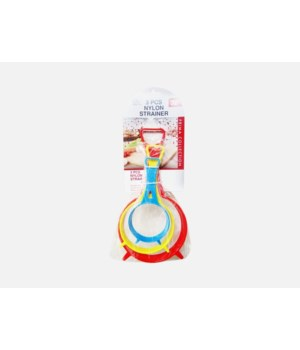 3PCS NYLON STRAINER 1DZ