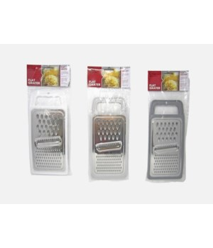 STAINLESS STEEL 3 WAY GRATER 1DZ
