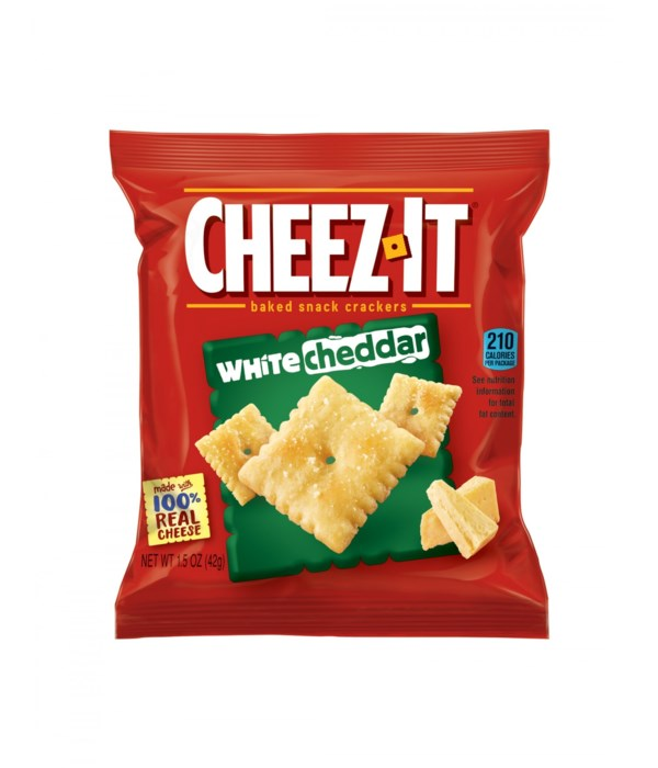 CHEEZ-IT WHITE CHEDDAR 6/3 OZ