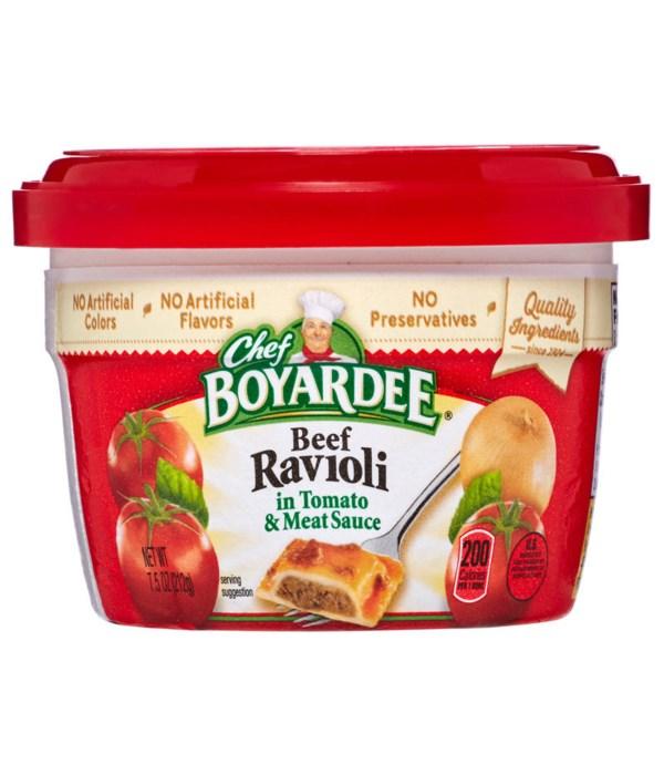 CHEF BOYARDEE MICRO BEEF RAVIOLI 12/7.5OZ