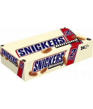 SNICKERS ALMOND KING 24/3.23OZ EXP 03/2021