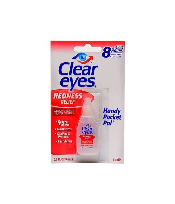 CLEAR EYES REDNESS RELIEF 12/0.2OZ(54128)
