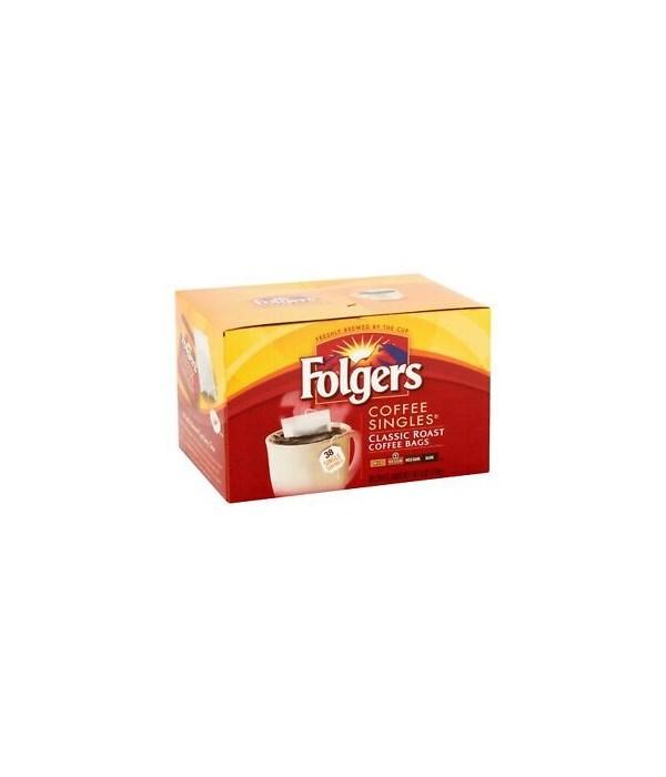 FOLGERS COFFEE SINGLES 38CT