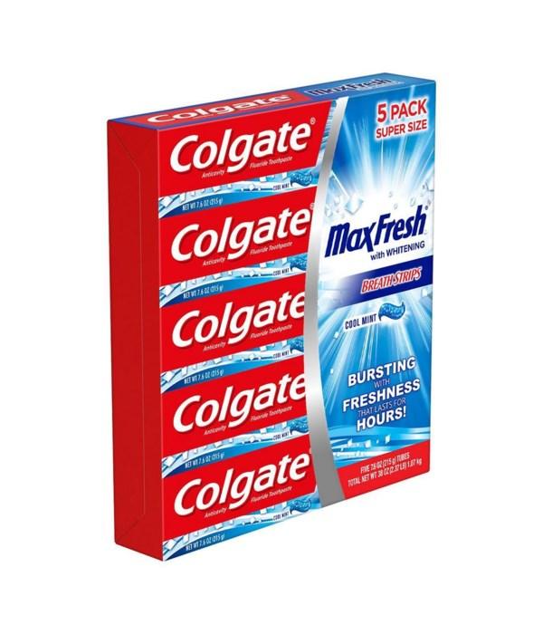 COLGATE MAX FRESH COOL MINT 40/7.6OZ