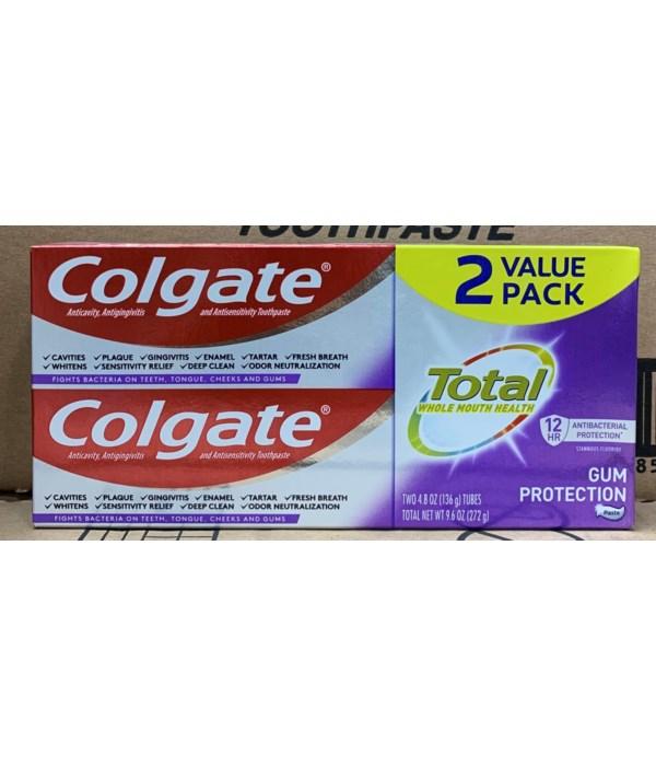 COLGATE GUM PROTECTION PASTE 24/4.8OZ