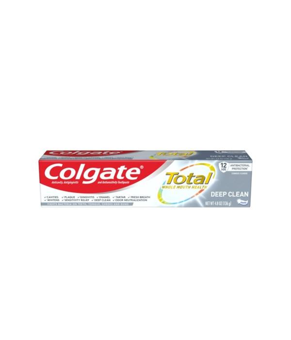 COLGATE DEEP CLEAN PASTE 24/4.8OZ