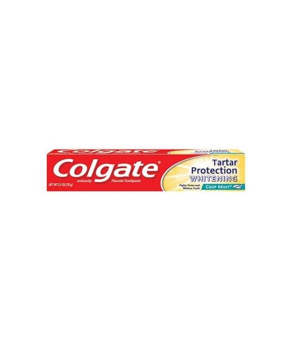 COLGATE TOOTHPASTE TARTAR PROTECTION 24/2.5OZ