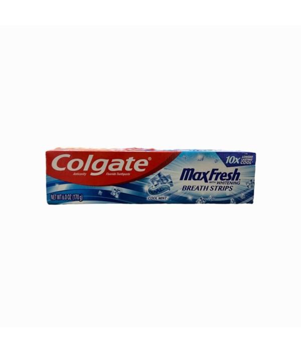 COLGATE MAX FRESH COOL MINT 24/6OZ (76666)