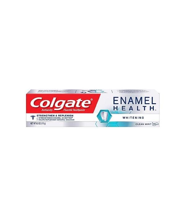 COLGATE ENAMEL HEALTH WHITENING 24/6OZ (5004A)