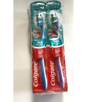 COLGATE TOOTH BRUSH SURROUND MEDIUM 360  1DZ