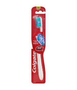 COLGATE TOOTH BRUSH OPTIC WHITE MEDIUM 360 1DZ