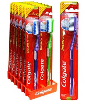 COLGATE TOOTH BRUSH DOUBLE ACTION 1DZ