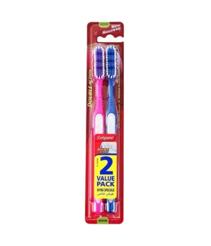COLGATE TOOTH BRUSH DUAL ACTION 12/2PK