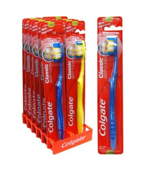 COLGATE TOOTH BRUSH CLASSIC DEEP CLEAN MEDIUM 1DZ