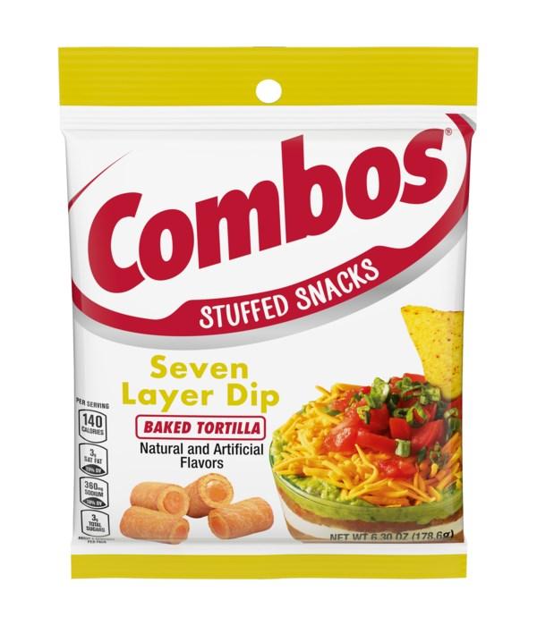 COMBOS BAG 7 LAYERS DEEP TORTILLA 12/6.3OZ