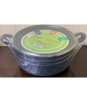 16QT SAUCE POT NON-STICK COAT 4CT