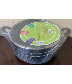 18QT SAUCE POT NON-STICK COAT 4CT