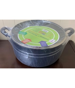 22QT SAUCE POT NON-STICK COAT 4CT