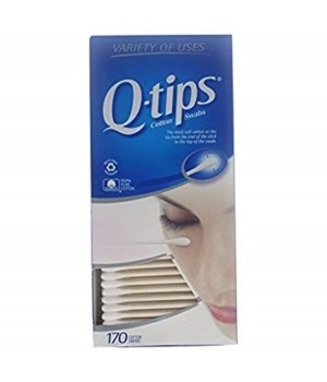 COTTON TIPS Q-TIPS 12/170CT