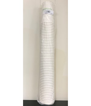 ECO-FRIENDLY PAPER CUPS W/LIDS 16OZ 20/50CT