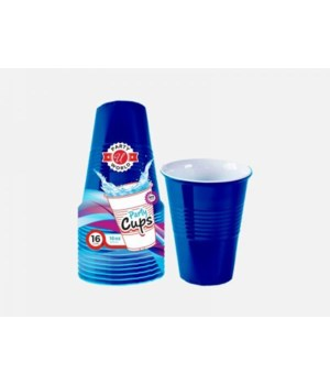 16OZ BLUE HEAVY DUTY CUPS 24/16CT