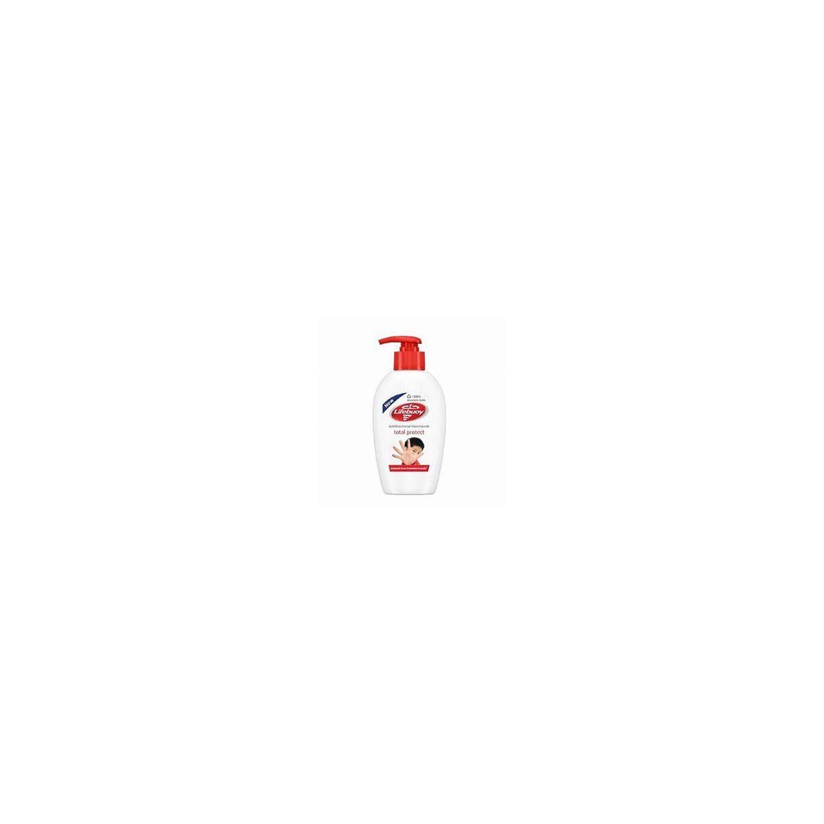 LIFEBUOY ANTIBACTERIAL HAND WASH TOTAL PROTECT 12/200ML