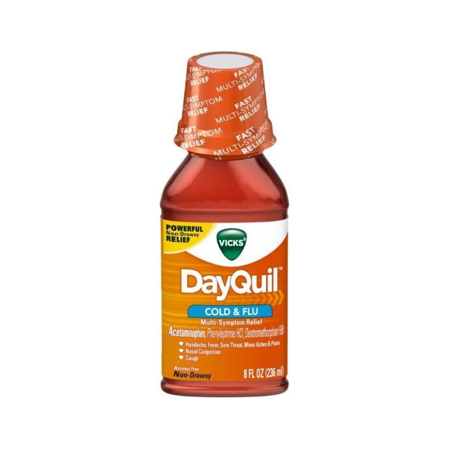 DAYQUIL LIQUID COLD&COUGH 12/8OZ