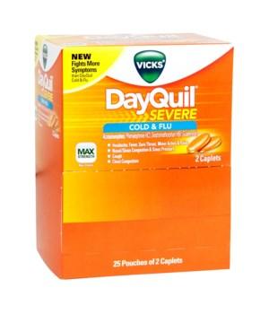 DAYQUIL COLD&FLU DISPENSER 25/2PK