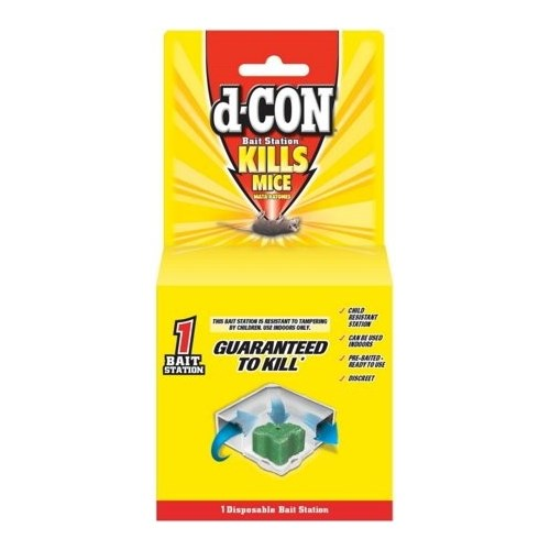 d-CON BAIT STATION CORNER FIT DISPOSABLE 12/1CT