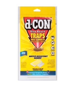 d-CON MOUSE GLUE BOARD 22/4CT
