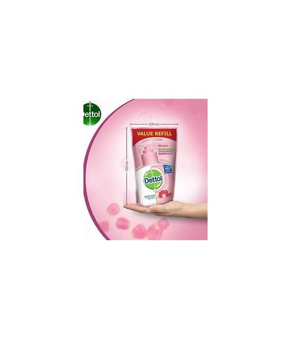 DETTOL HAND WASH SKIN CARE REFILL 12/175ML