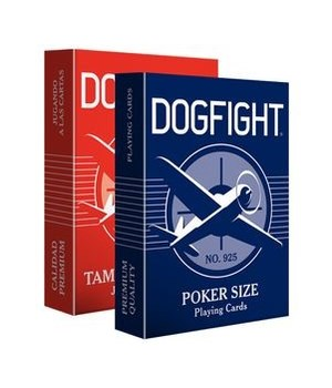 DOG FIGHT PLAYING CARDS 1DZ