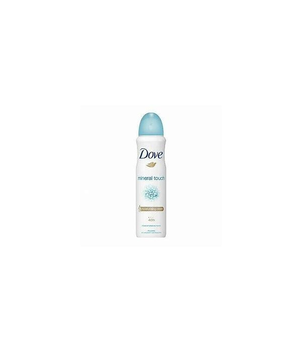 DOVE BODY SPRAY NATURAL TOUCH 12/150ML (3673)