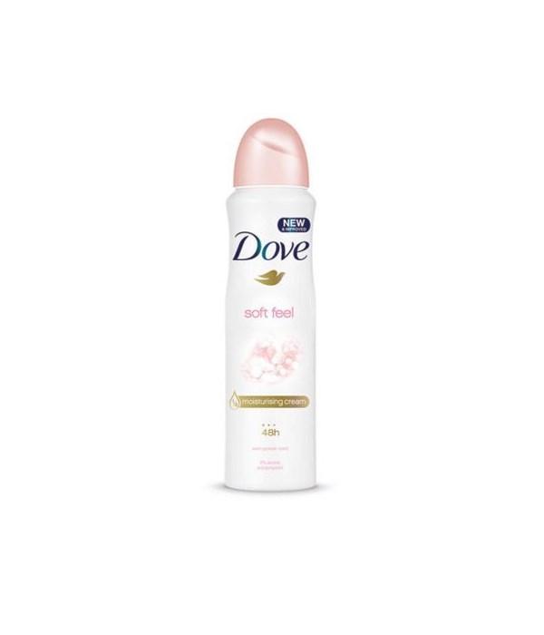 DOVE BODY SPRAY SOFT FEEL 12/150ML