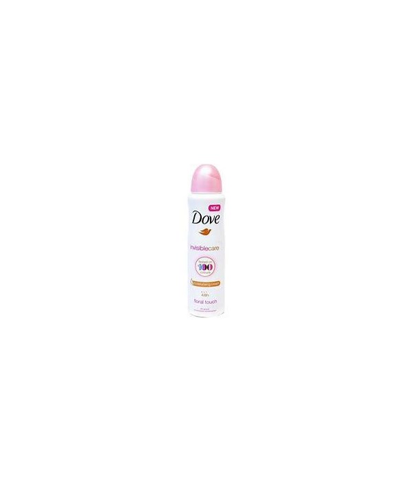 DOVE BODY SPRAY INVISIBLECARE FLORAL TOUCH 12/150ML