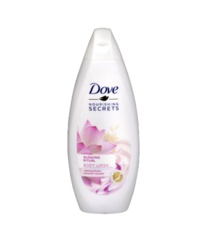DOVE BODY WASH GLOWING RITUAL 12/500ML