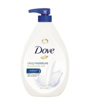 DOVE BODY WASH NOURISHING 12/8500ML