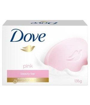 DOVE SOAP CREAM BAR PINK 48/135GR