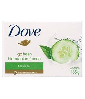 DOVE BAR SOAP GO FRESH TOUCH 48/135GR (4.761OZ)
